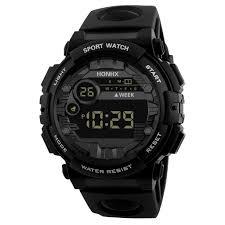 <b>HONHX</b> Luxury <b>Mens</b> Digital LED Watch Date <b>Sport Men</b> Outdoor ...