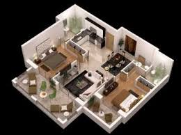 house plan and Interior Design d   d model    max