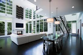 2 story height dining room contemporary with living room ceiling light ceiling dining room lights photo 2