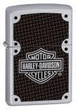 <b>Зажигалка Zippo Harley</b>-<b>Davidson</b> Carbon Fiber с <b>покрытием</b> Satin ...