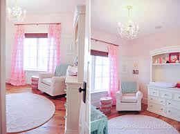 lylas adorable pink and aqua baby room love the chandelier see the entire adorable pink chandelier