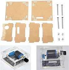 ILS - Transparent Acrylic Protective Case for DC 12V ... - Amazon.com