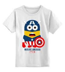 """<b>Детская одежда</b> c особенными принтами """"marvel"""" - <b>Printio</b>"""