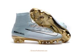 white cr7 football boots