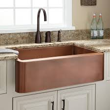 hammered copper kitchen sink: quot raina copper farmhouse sink  l raina single bowl copper farmhouse sink antique copper