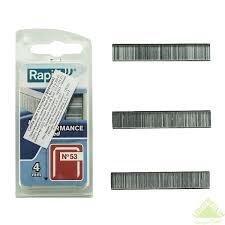 <b>Скоба для степлера Rapid</b> Workline, тип 53, 4 мм, 1600 шт. в ...