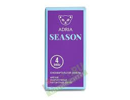 """Adria <b>Season</b> (<b>4 линзы</b>) купить в интернет-магазине """"<b>Линзы</b>.ру ..."""