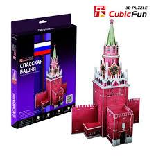 """Трехмерная модель <b>Cubic Fun</b> """"<b>Спасская башня</b>"""" купить по цене ..."""