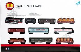 ᐉ Игровой набор <b>Big Motors Железная дорога</b> с 9 вагонами ...