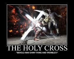 The Holy Cross by Samuraicore on DeviantArt via Relatably.com