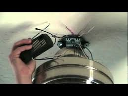 how to install a ceiling fan remote control how to install a ceiling fan remote control