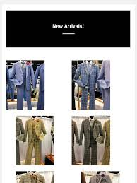 Men's USA: All <b>New Plaid Suits</b> for Dad, and Prom Tuxedo's for Son ...
