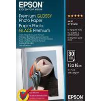 <b>Epson</b> Inkjet Photo <b>Paper Glossy</b> Premium 13 x 18 cm 255 g 30 ...