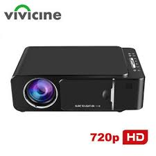 <b>VIVICINE 1280x720p Portable</b> HD Projector Android 7.1 HDMI USB ...