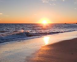 Image result for beach at sunset