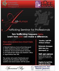 flyer samples by michelle bogan on guru sex trafficking seminar flyer