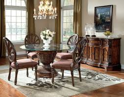 furniture california piece dining table  brilliant  best photos of ashley furniture glass dining room table wi