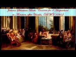Johann Sebastian Bach: Concerto for 4 Harpsichord in A minor, after ...