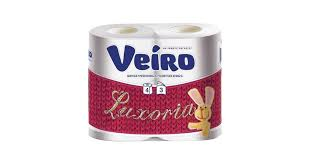 "<b>Туалетная бумага</b> ТМ <b>VEIRO</b> ""<b>Luxoria</b>"" 3сл., 19,4м., белая, втор ..."