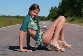 Wallpaper Sandra Orlow Teen Angel Babe Girl Cute Road Pretty ...
