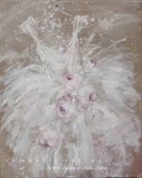 beautiful shabby chic style tutu painting available at wwwdebicoulescom beautiful shabby chic style