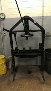 Weaver Brothers Volvo We Still Use This Old Press At Work Patent Date On It Is 1916