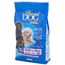 <b>Special Dog Puppy &</b> Junior Chicken and rice 4kg dog food ...