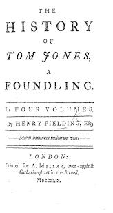 Histoire de Tom Jones, enfant trouvé