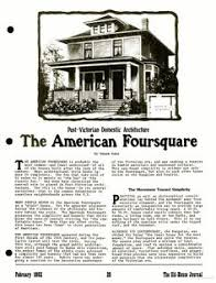 old square house plans   AMERICAN FOURSQUARE HOME PLANS      old square house plans   AMERICAN FOURSQUARE HOME PLANS   House Plans   For the Home   Pinterest   The Americans  Square House Plans and Foursquare