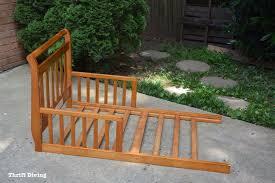 Repurposed <b>Toddler</b> Bed Becomes a DIY Potting <b>Bench</b>: Trash to ...
