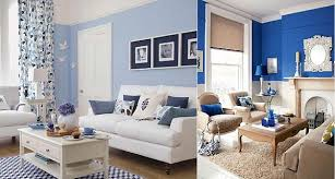 blue and white living room blue room white furniture