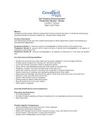 production assembler job resume cipanewsletter cover letter sample electronic assembler resume sample of