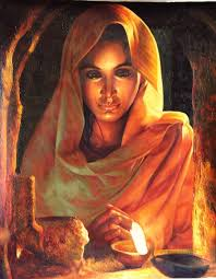 Image result for abstract color pencil art of bengal village girl