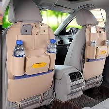 Universal <b>Car</b> Multi-Pockets Storage Bag Back Seat Organizer ...