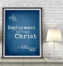 military deployment print or canvas i can do all things philippians us army navy marines air force wife wall art home decorall sizes by happyplaceink on art force office decoration