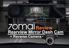 <b>70Mai Rearview Mirror Dash</b> Cam (D04) + Reverse Cam (RCA03 ...