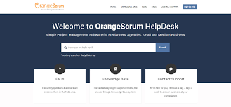 orangescrum new helpdesk get all your project management orangescrum helpdesk