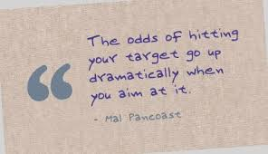 Quotes On Achieving Targets. QuotesGram via Relatably.com