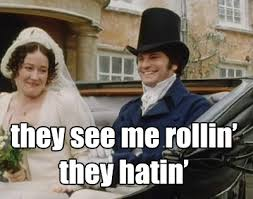 Wordless Wednesday: Mr. Darcy Memes | Hardcovers and Heroines via Relatably.com