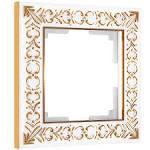 <b>Рамка</b> Werkel Antik на 1 пост белое золото W0011523 ...