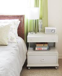 Modern Bedroom Side Tables Best Bedside Tables With Nice White Wooden Bedside Table With Lots