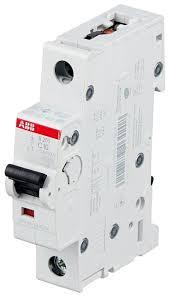 <b>Автоматический выключатель ABB</b> S201 1P (C) 6kA — купить по ...
