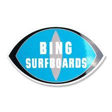 CLASSIC BING STICKER LARGE - Bing Surfboards