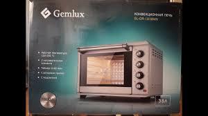 ОНЛАЙН ТРЕЙД.РУ — <b>Мини</b>-<b>печь Gemlux GL</b>-OR-<b>1838MN</b> ...