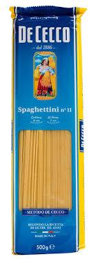 <b>Макароны De Cecco</b> спагетти <b>№</b>11 500г купить с доставкой ...