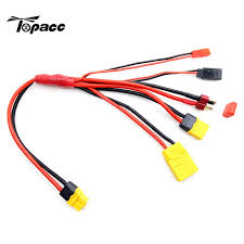 <b>New Arrival</b> 5 In 1 XT60 Plug <b>Battery Charging</b> Connect Cable Lines ...