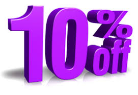 Image result for 10 % OFF