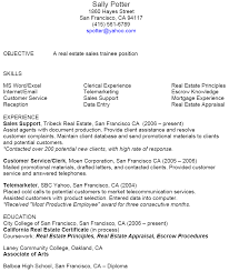 real estate resume sample   construction resume examplereal estate resume sample