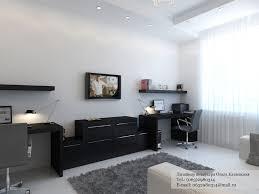 black desk white home office black desk white home office
