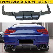 <b>F06 F12</b> F13 M6 Carbon Fiber <b>Rear</b> Diffuser for BMW <b>F06 F12</b> F13 ...